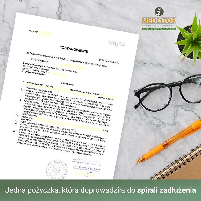 Upadłość Konsumencka. Historia naszej klientki.